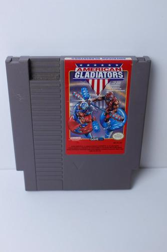 american gladiators - juego original nintendo nes