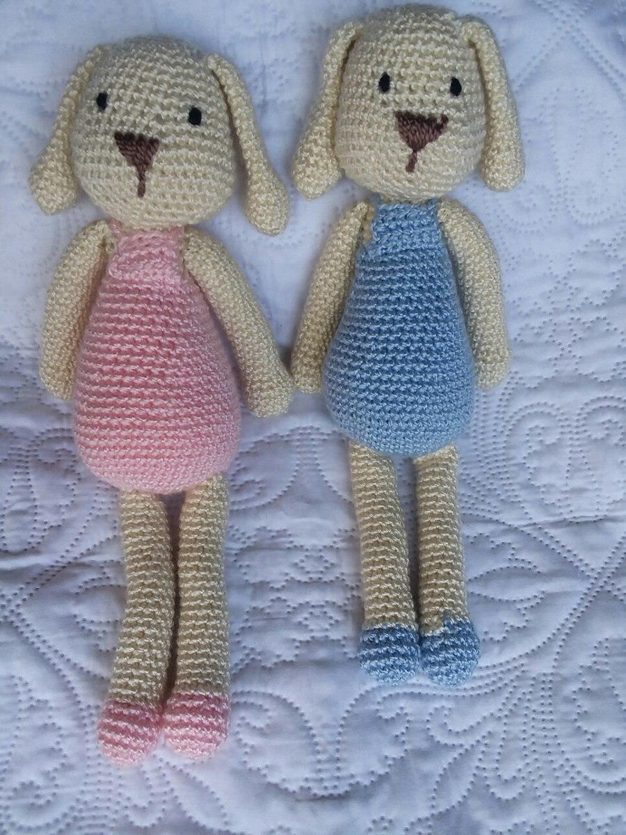 Amigurumis. Conejo Tejido A Crochet Peluche. Hermoso!! - $ 680,00 en ...