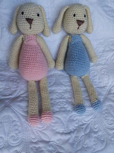 amigurumis. conejo tejido a crochet peluche. hermoso!!