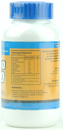 aminoacido amino 1900 gentech 150 tab - masa muscular