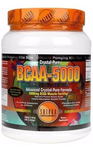 aminoácido bcaa en polvo 1/2 kg saturn - envíos!