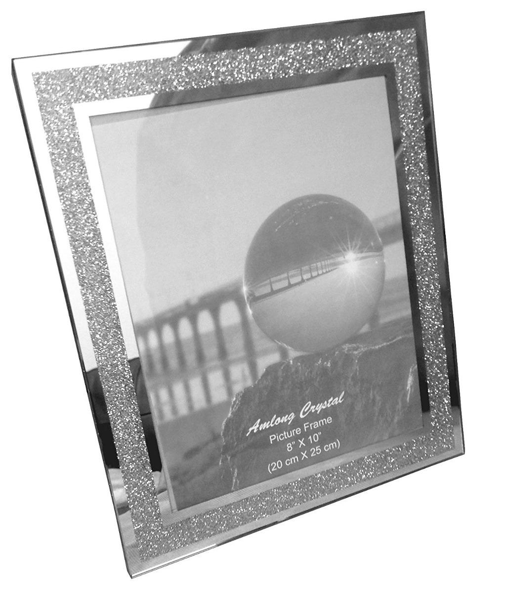 Amlong Cristal Brillo Espejo Marco, 8 X 10 - U$S 62,00 en Mercado Libre
