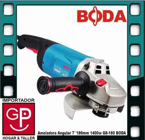 amoladora ang. 7´´ 180mm 1400w g8-180 boda g p