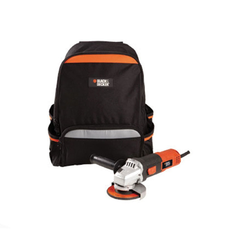 amoladora angular 115mm 820w black + decker g720n c/mochila