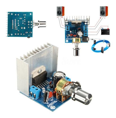 amplificador 15+15 watts rms- tda7297 (buen disipador)