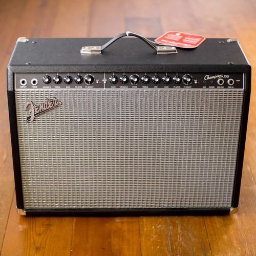 amplificador de guitarra fender champion 100 212