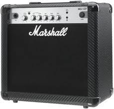 amplificador de guitarra marshall mg15cf 15w -