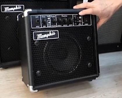amplificador de guitarra memphis 10w