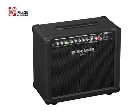 amplificador guitarra behringer vt30fx virtube - 30w