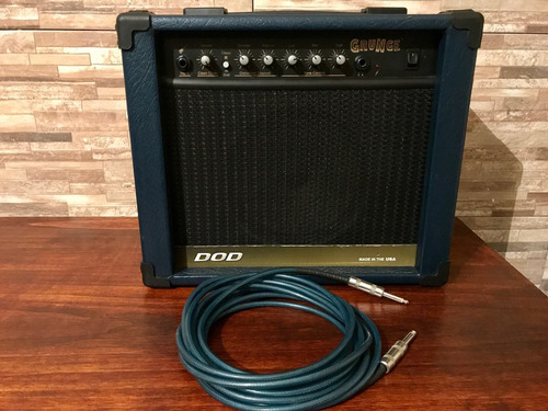 amplificador guitarra dod grunge 40w made in usa impecable!!