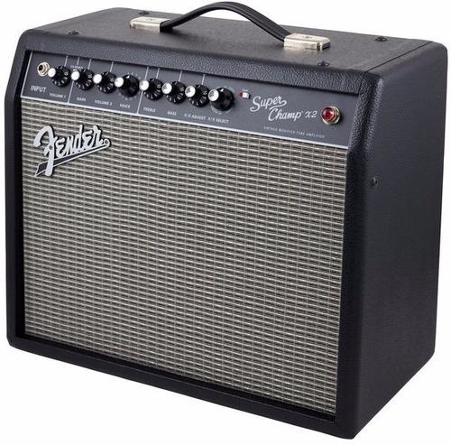 amplificador guitarra fender superchamp x2
