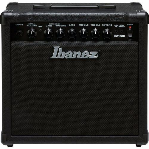amplificador guitarra ibanez ibz15gr 15 watts