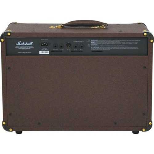 amplificador guitarra marshall as50d acustica 50w
