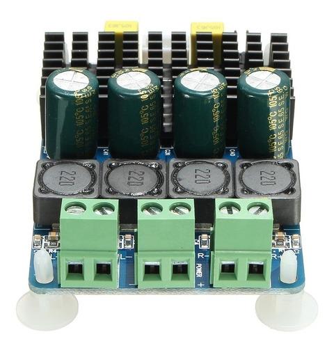 amplificador / potencia 100+100 watts rms tda7498
