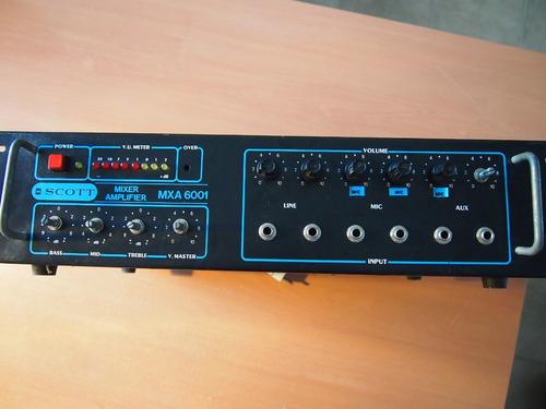 amplificador scott 100 watts reales