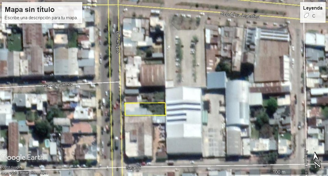 amplio terreno con local sobre avenida bulevar artigas