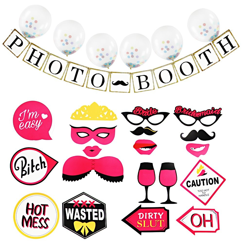 d064118fe amztm bridal shower hot funny girl night party decoration. Cargando zoom.