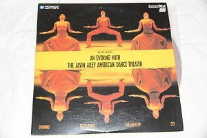 an evening with the alvin ailey american dance laserdisc
