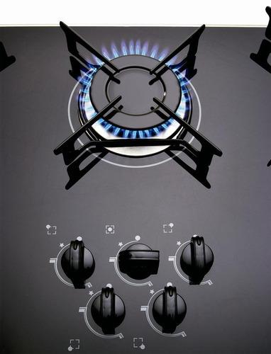 anafe cocinilla de empotrar super gas 5 hornallas enecendido
