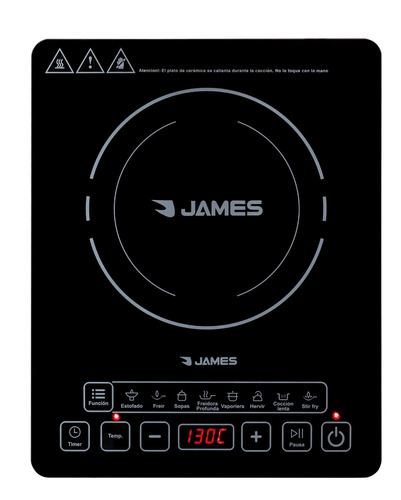 anafe james induccion magnetica ultra rapido digital pcm