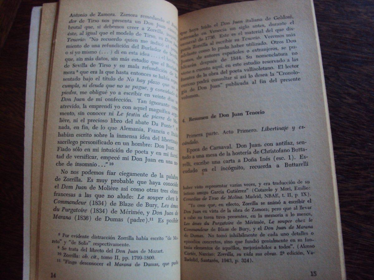 Analisis De Don Juan Tenorio Cymerman Enciclopedia Literaria - $ 100 ...