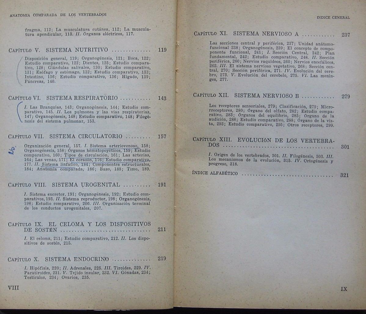 Anatomía Comparada De Los Vertebrados - Pisanó & Barbieri - $ 300,00 ...