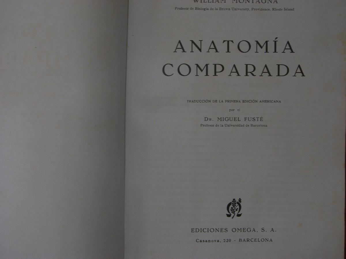 Anatomia Comparada Embriologia Zoologia - $ 1.200,00 en Mercado Libre