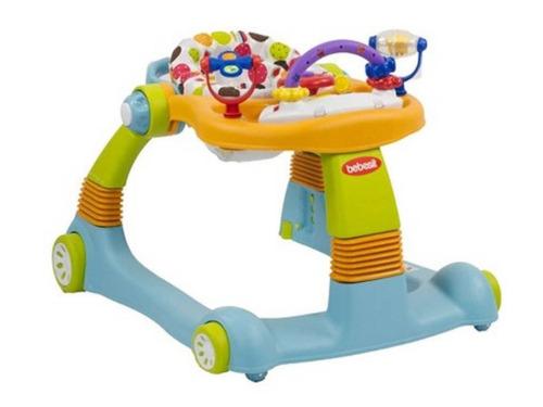 andador caminador bebesit walker azul  bebés y niños
