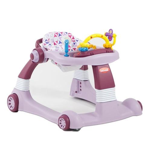andador caminador bebesit walker rosa  bebés y niños