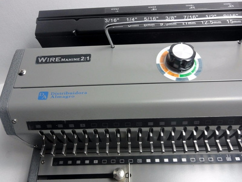 anilladora de alambre doble oficio wire mac 2006 paso 2:1.