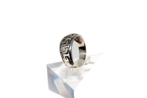cf181f4adbcb anillo de plata 925 con guarda griega guilad rso31. Cargando zoom.