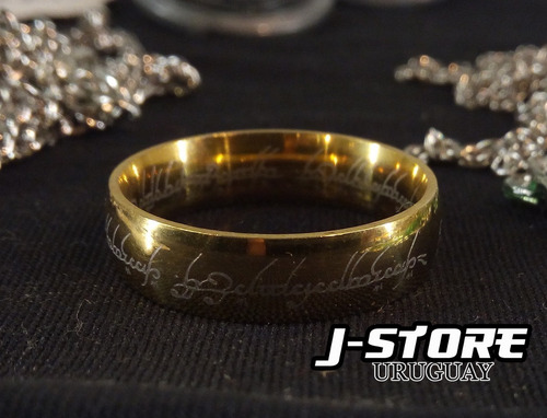 anillo unico - the lord of the rings - señor de los anillos