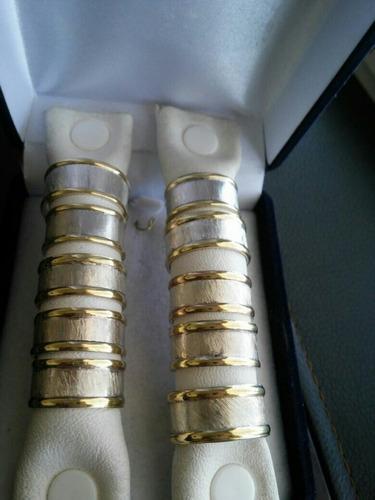 anillos esclavos plata y oro !!!