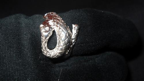 anillos  plata 925 serpiente