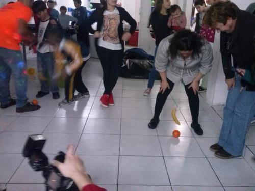 animación adolescentes,1min pganar,disco,karaoke,barra móvil