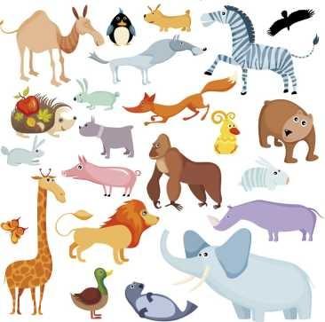 7c1bcd5b4cbc0 Animales - Dibujos Infantiles - Lamina 30 X 30 Cm. -   380