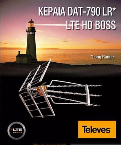 antena televes dat hd boss 790 lr- 34 dbi
