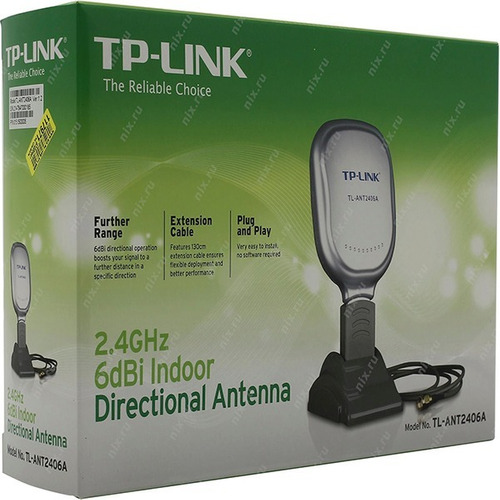 antena tp-link wifi 6dbi yagi-dir tl-ant2406a