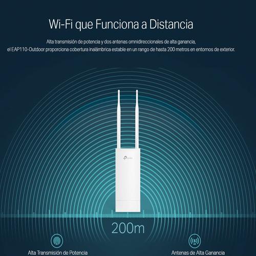 antena wifi extensor wifi exterior tp-link eap1 hasta 200mts