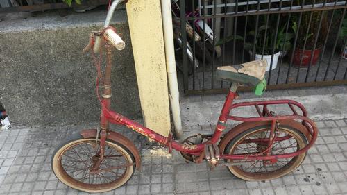 antigua bicicleta broadway de coleccion