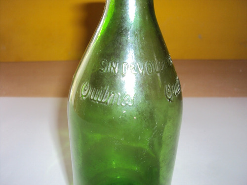 antigua botella de quilmes