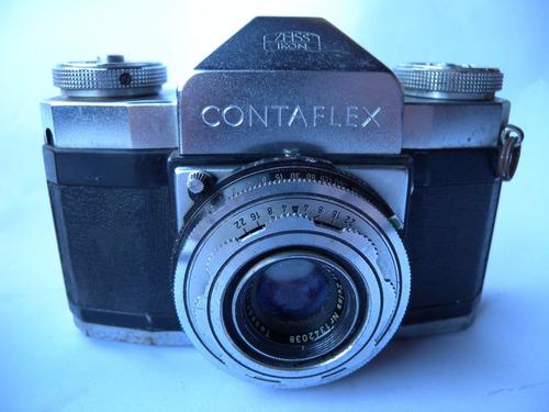 antigua camara contaflex i slr zeiss ikon alemana años 50s