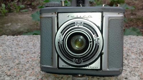 antigua cámara de fotos selica alemana leer descripción