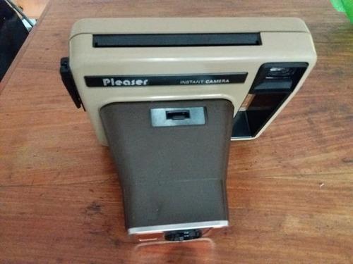antigua camara polaroid instantanea kodak made usa c/bolso