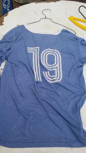 antigua camiseta futbol