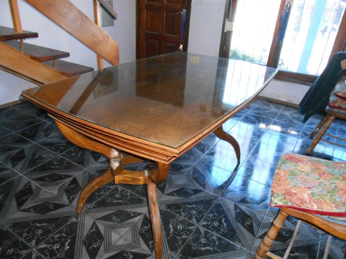 Antigua Mesa De Comedor Años 50 (extensible) Vendo Urgente - $ 4.000,00