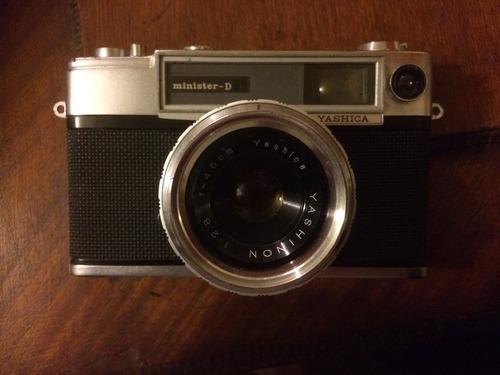 antigua, yashica camara fotografica