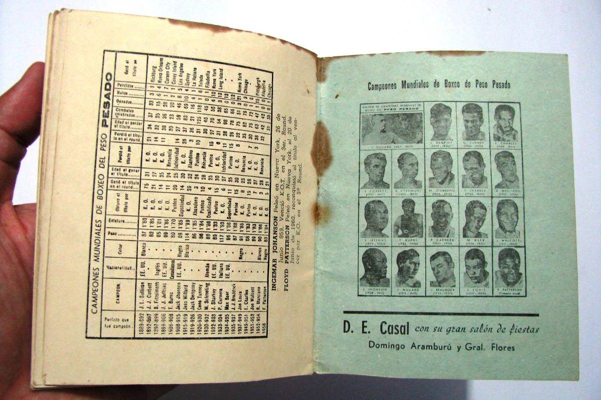 Calendario Del 1961.Antiguo Calendario Espana Uruguay Deportes Futbol 1960 1961 550 00