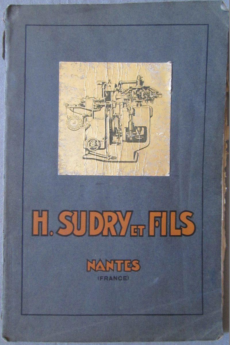 ddac82a18 Antiguo Catalogo De Maquinaria De Enlatado H.sudry Et Fils -   1.250 ...
