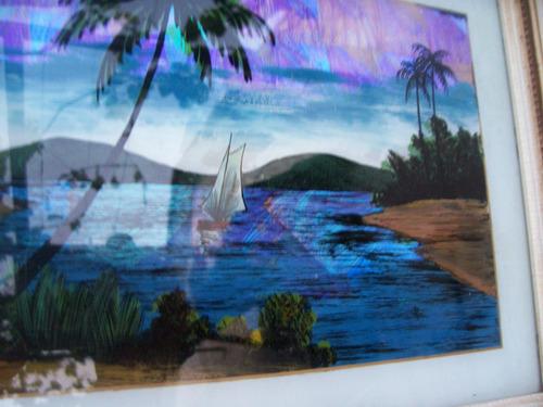 antiguo cuadro alas de mariposa - zitrin rio brazil